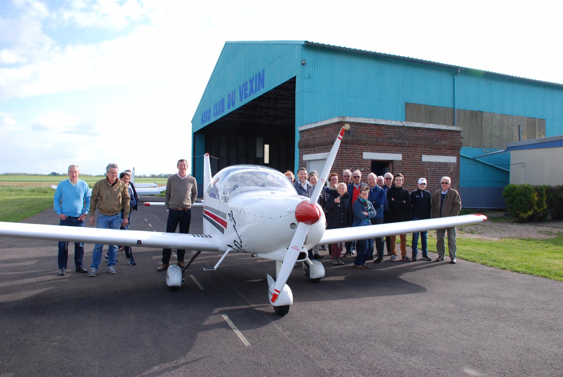 3_Inauguration du nouvel avion APM30 Lion