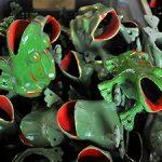 4 grenouilles en fonte © Jorelle
