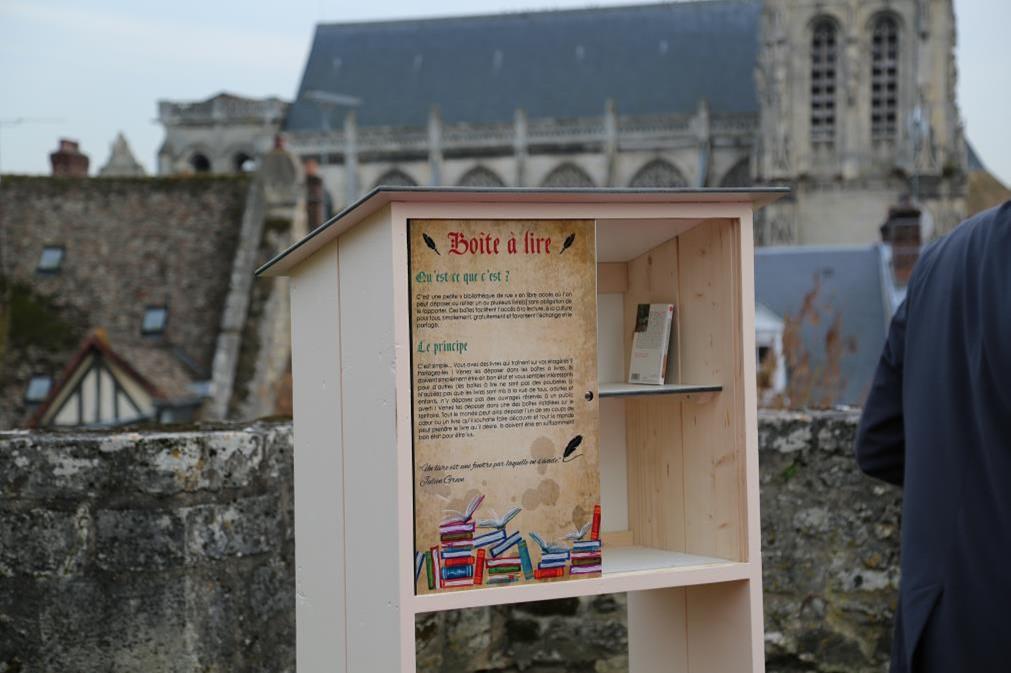 Boite à lire château (1) réduit