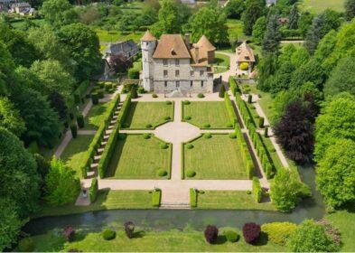 Château coté jardin (c) ACVM réduit