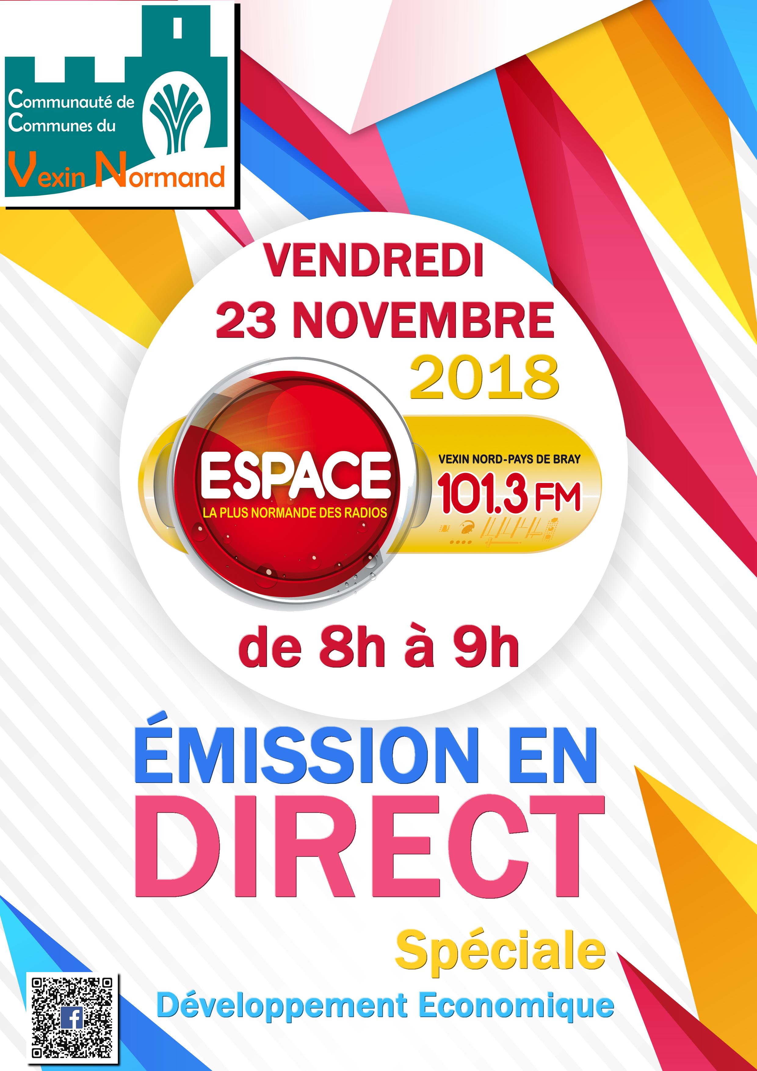 Emission_Espace_vendredi_23_novembre_2018