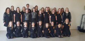 Groupe de danseurs irlandais et français © Folk en Pagaille