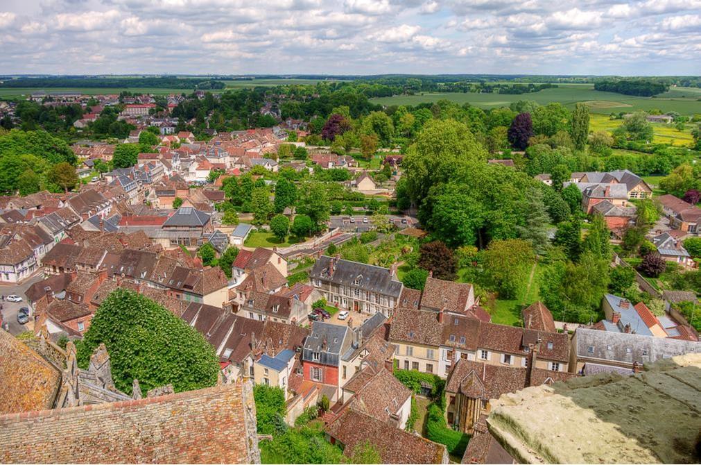 Les toits de Chaumont - Crédit Christophe Chatillon réduit