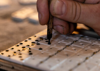 Mouchetage dominos - 8 - ©Jean-Baptiste Quillien