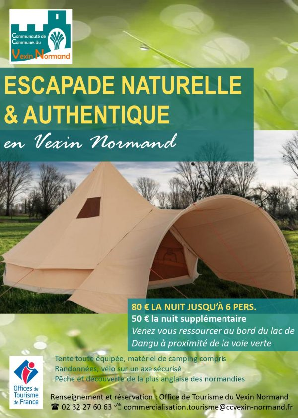 Package OT nuit au camping