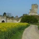 Vue extérieure de Châteauneuf-sur-Epte © Didier Faure, association Héritage Historique