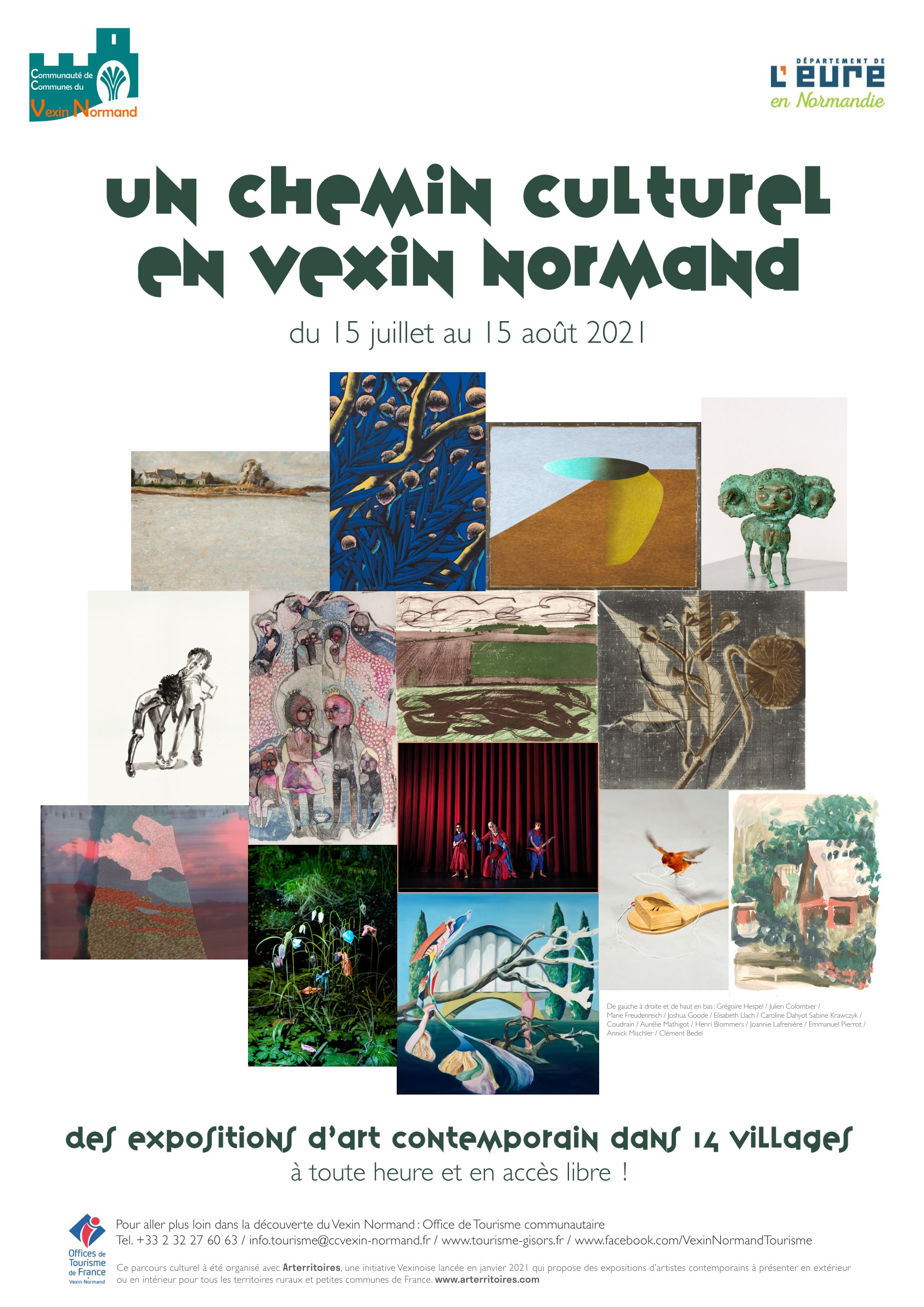 chemin culturel en Vexin Normand