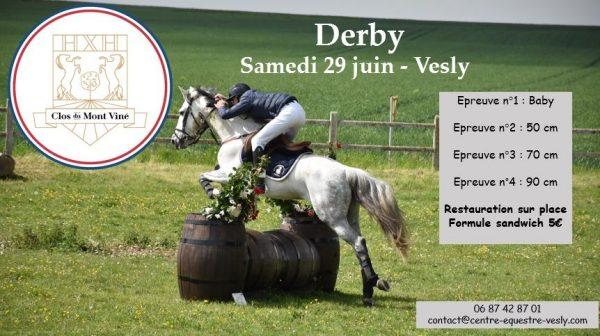 derby centre equestre vesly