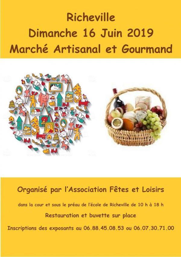 marché artisanal et gourmand
