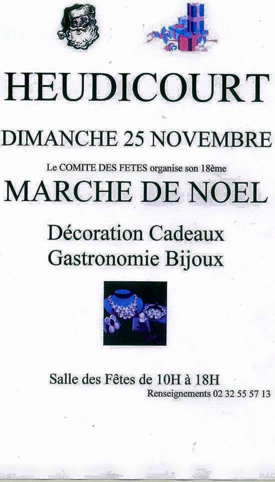 marché noel heudicourt