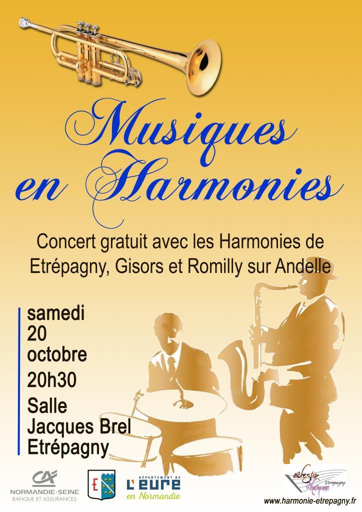 musiques en harmonie etrepagny