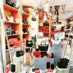 shop cuir vitrine