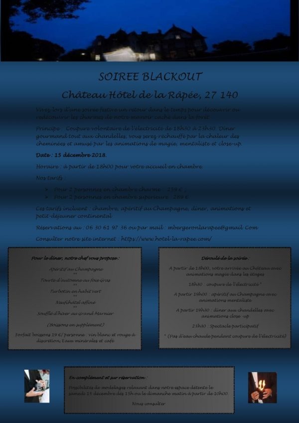 soiree blackout