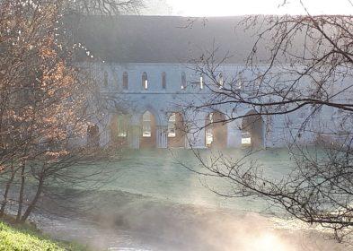 Brume © Olivier Monpoint, Abbaye de Fontaine-Guérard