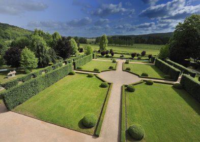 Jardin à la française de Vascœuil ©JF Lange, A.C.V.M