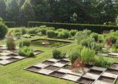 Jardin du savoir © Olivier Monpoint, Abbaye de Fontaine-Guérard
