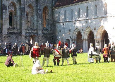 Médiévales © Olivier Monpoint, Abbaye de Fontaine-Guérard