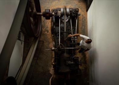 Machine à vapeur - 12 - (c) Jean Baptiste Quillien réduit