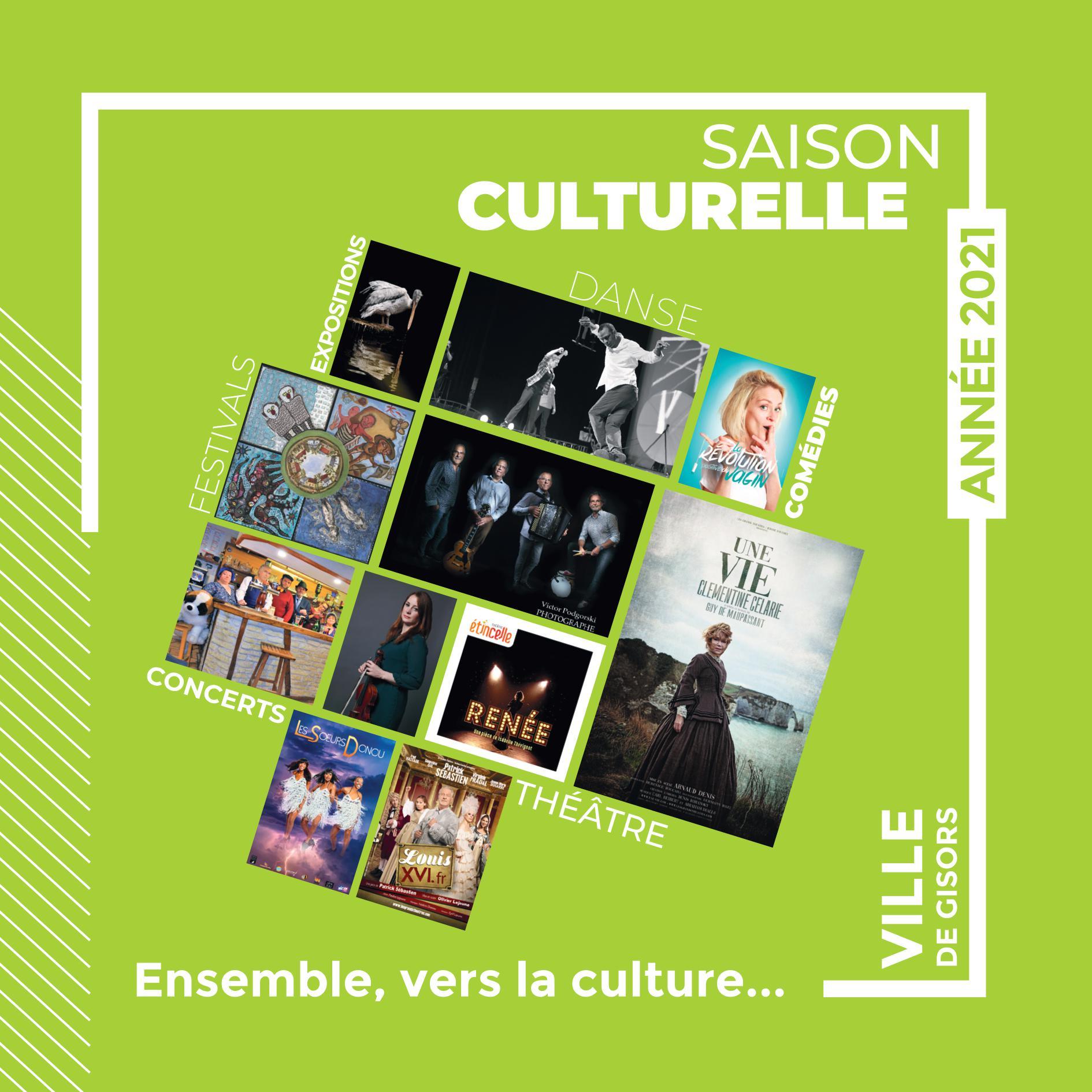 Saison culturelle 2021