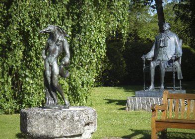 Sculptures des jardins de Vascœuil (Dali, Chemiakin) © Château de Vascœuil, A.C.V.M