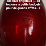 Vase rouge (c) Au charme du verre